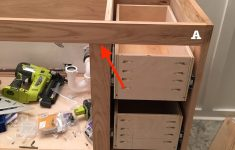 Cabinet Doors And Drawers Best Of Build A Diy Bathroom Vanity Build Drawers Cabinet Doors