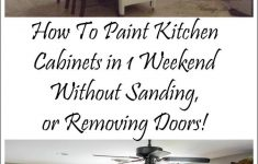 Cabinets Without Doors Unique How I Painted My Kitchen Cabinets Without Removing The Doors
