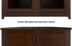 Console Cabinet With Doors Inspirational Console With Wood Glass Doors In Media Stands