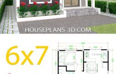 Design Small House Plans Unique House Design 6x7 With 2 Bedrooms In 2020