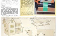 Doll House Plans Wood Lovely Doll House Plans • Woodarchivist