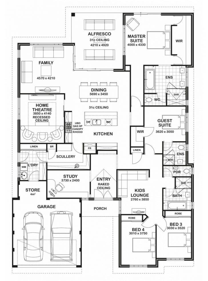 Dream Homes House Plans 2020