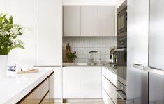 Flat Cabinet Doors Fresh Brought Into The 21st Century With A Sleek Modern Kitchen