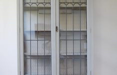 Floor Cabinet With Glass Doors New Display Cabinet Reloved