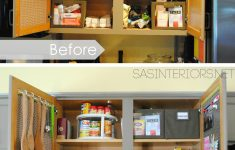 Food Storage Cabinet With Doors Lovely Kitchen Organization Ideas For The Inside Of The Cabinet