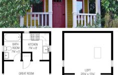 Free Plans For Small Houses Luxury 27 Adorable Free Tiny House Floor Plans Craft Mart