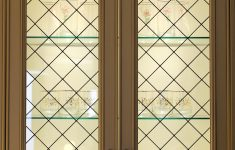 Glass Panels For Cabinet Doors New Kitchen Cabinet Glass Inserts