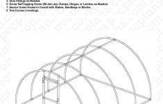 Hoop House Greenhouse Plans Awesome Free Plans For An Arched Pvc Pipe Greenhouse