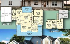 House Plans Texas Hill Country New Plan Wm Expanded Farmhouse Plan With 3 Or 4 Beds In
