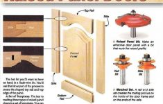 How To Build Raised Panel Cabinet Doors Awesome Making Raised Panel Doors Cabinet Door Construction