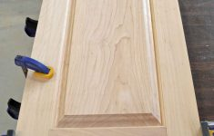 How To Make Flat Panel Cabinet Doors Elegant Remodelaholic