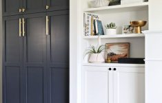Ikea Storage Cabinets With Doors Unique Super Smooth Ikea Pax Hacks That Look Seamless & Built In In