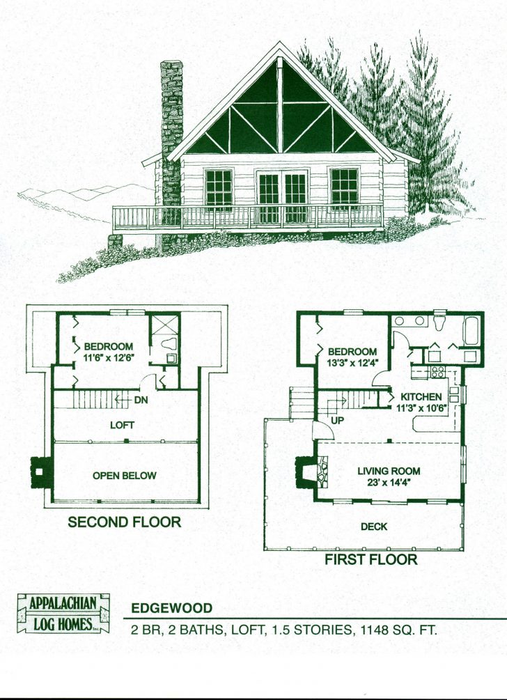 Log Cabin House Plans with Basement 2021