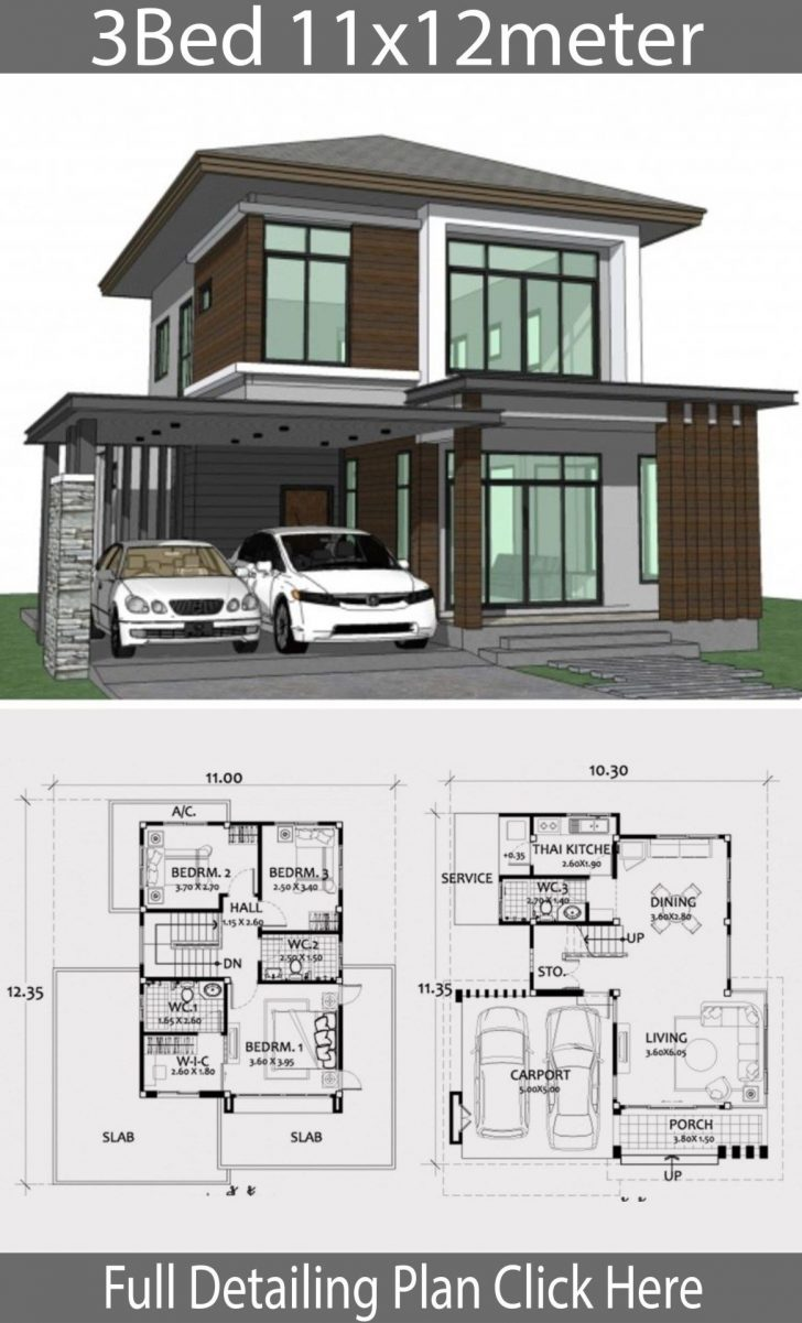 Medium Modern House Designs 2021