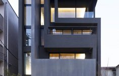 Modern Apartment Building Plans Awesome Okm 4 Story Building Designed For A Private Residence And