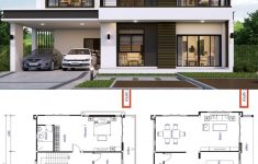 Modern Day House Plans Luxury House Design Plan 13x9 5m With 3 Bedrooms