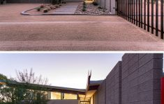 Modern House Architecture Styles Beautiful Sandblasted Concrete Blocks Provide This Home With Desert
