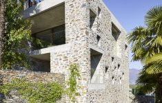 Modern Stone House Plans Best Of Modern Stone House With Terraced Garden Overlooking Lake