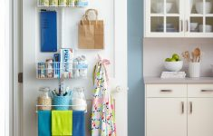 Over The Door Cabinet Awesome Store More With These Behind The Door Storage Ideas