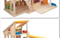 Plan Toys Wooden Doll House Unique Plan Toy Chalet Doll House With Furniture Idea