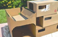 Plans For Cat House Elegant Diy Cardboard Cat Condo