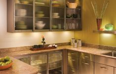 Premade Cabinet Doors Inspirational Inviting Kitchen Gl Cabinet Doors Stainless Framed Frosted