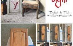 Repurposed Cabinet Doors Awesome 19 Best Repurposed Cabinet Door Ideas And Designs For 2020