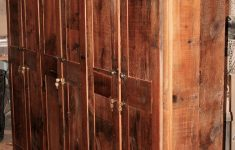 Rustic Storage Cabinet With Doors New Storage Cabinets — Barn Wood Furniture Rustic Barnwood And