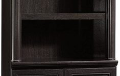 Sauder Cabinet With Doors Elegant Sauder Palladia Library With Doors Wind Oak Finish