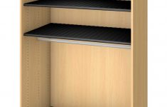 Shelf Cabinet With Doors Best Of Fleetwood Harmony Rod Garment Storage No Doors 3 Shelves 48 X 30 X 84 Inches Fusion Maple