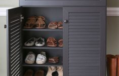 Shoe Storage Cabinet With Doors Unique 20 Shoe Storage Cabinets That Are Both Functional & Stylish