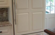 Short Cabinet With Doors Beautiful Refrigerator Wooden Panel
