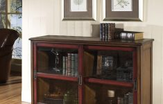 Short Cabinet With Doors New Short Bookcase With Doors Cool Apartment Furniture Check