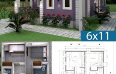 Simple Cheap House Plans Elegant Low Bud 3 Bedrooms Home Plan 6x11
