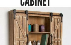 Sliding Door Wall Cabinet New Fantastic Rustic Wall Mounted Cabinet Great For Storage In