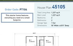 Small Traditional House Plans Inspirational Traditional Style House Plan With 2 Bed 2 Bath 1