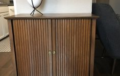 Tambour Door Cabinet New I Scored This Awesome Tambour Door Cabinet Off Cl For $10