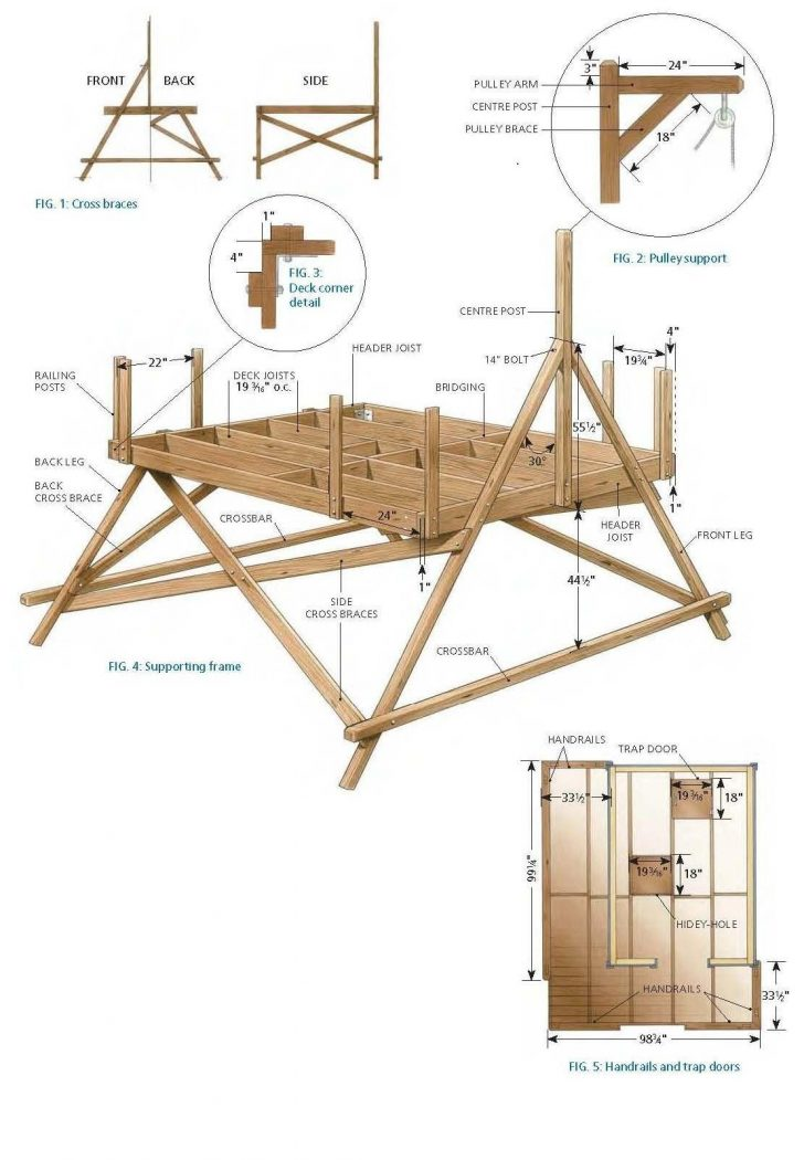 Tree House Plans for Sale 2021