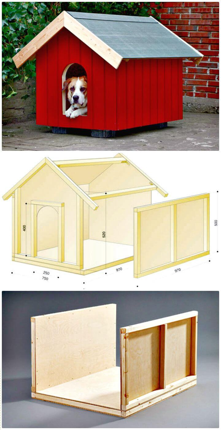 Two Dog House Plans 2021