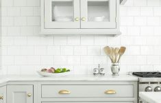 White Kitchen Cabinets With Glass Doors Elegant Gray Cabinets With Glass Doors And Gold Hardware White