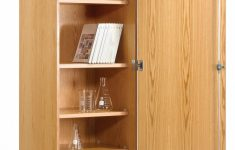 Wood Storage Cabinets With Doors Luxury Diversified 313 2422 Tall Wall Storage Cabinet Solid Doors 24 X 84