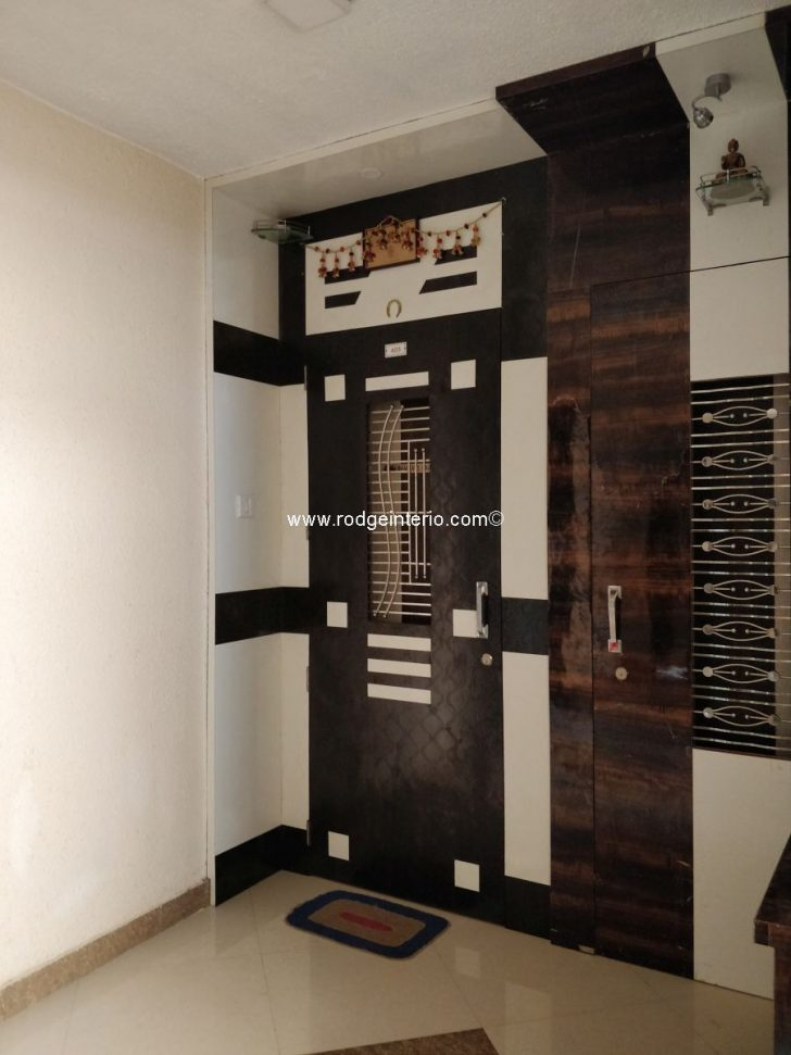 Wooden Safety Door Designs for Flats 2020