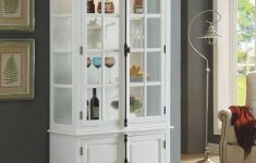 Acme Cabinet Doors Best Of Iovius Curio Cabinet In White Acme Furniture