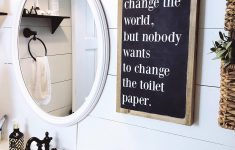 Bathroom Signs Decor Inspirational 35 Best Bathrooms Sign Ideas And Designs For 2020