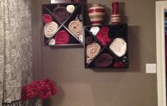 Bathroom Towel Decor Ideas Awesome Exclusive Diy Bathroom Towel Decoration Ideas Live Enhanced