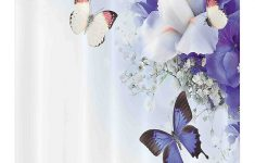 Butterfly Bathroom Decor Beautiful Amazon Ambesonne Butterfly Stall Shower Curtain