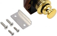 Cabinet Door Latch Awesome Justech Golden Push Button Latch Keyless Drawer Cupboard Door Catch Lock Latch Knob For Caravan Rv Boat Yachts Cabinet And Other Furniture