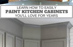 Cabinet Door Refinishing Awesome How To Easily Paint Kitchen Cabinets You Will Love