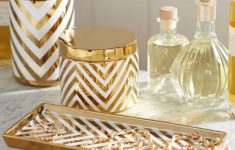 Chevron Bathroom Decor New Maura S Vanity