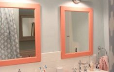 Coral Color Bathroom Decor Awesome Singular Bathroom Decor Ideas With The Pantone Color Of The